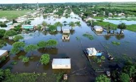 Declaran la emergencia hídrica en zonas afectadas por inundaciones