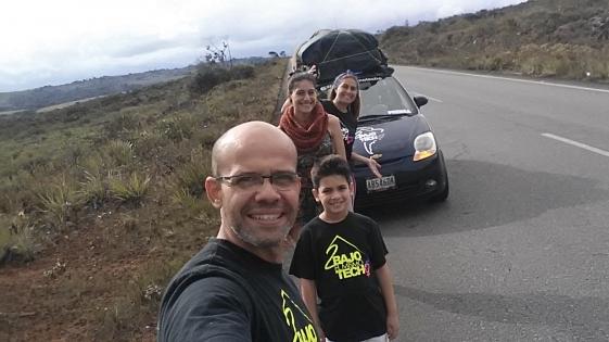 Hicieron 7 mil km en auto para escapar de Venezuela