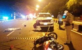 Motociclista argentino murió en un accidente en Brasil