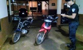 Secuestraron dos motos que corrían picadas en ruta 14