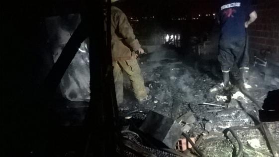 Se quemó una casa en barrio Vecinos Unidos
