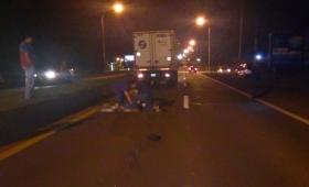 Adolescente murió atropellado por un camión