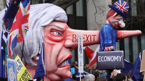 Marchas en Londres para pedir un segundo referendo del Brexit