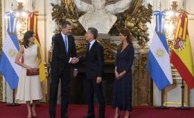 Macri recibió el apoyo del Rey de España, Felipe VI