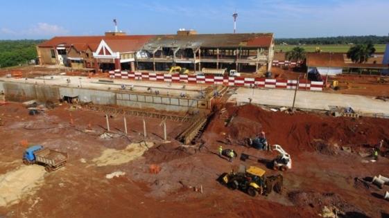 Iguazú: robaron 400 kg de cables del aeropuerto