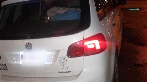 La policía recuperó un VW Surán robado