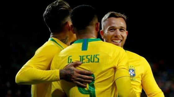 Brasil superó a República Checa en un amistoso internacional