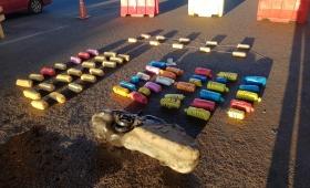 Aduana de Posadas decomisó 58 kilos de marihuana