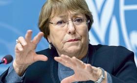 """Bachelet denunció """"represión"""" y """"violaciones de derechos humanos"""" en Venezuela"""