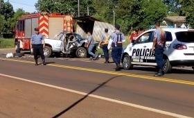 Gobernador Roca: identificaron a las dos víctimas fatales