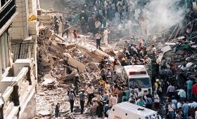 Recuerdan el atentado contra la Embajada de Israel en Argentina