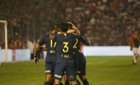 Boca goleó a San Martín y lo mandó a la B Nacional