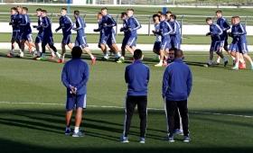 Argentina juega ante Venezuela en Madrid