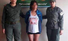 Estafadora detenida cuando intentaba huir del país