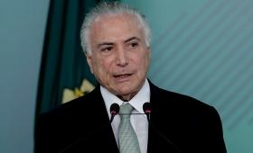 Juez brasileño libera a Temer mientras se lo investiga por corrupción