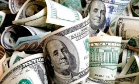 El dólar cerró a la baja a $45,64