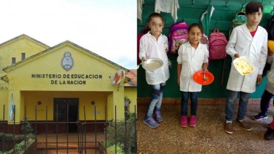 Escuela 633 de Campo Ramón: obligan a alumnos a llevar platos y cubiertos