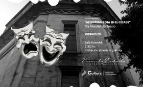 El día mundial del teatro se festeja en el Cidade