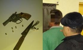 Garupá: hombre detenido por tenencia ilegal de arma de fuego