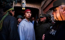 Liberan a Fausto Jones Huala en Bariloche, implicado en el caso Nahuel
