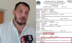Florentín de licencia por el escándalo con su deuda de cuotas alimentarias