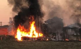 Quemaban basura y provocaron un incendio en EMSA