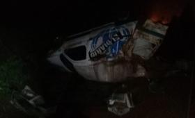 Loreto: despiste sin heridos en ruta 12