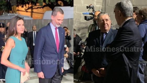 El Embajador Puerta recibió a los Reyes de España en su llegada a Argentina