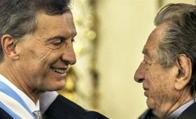 El presidente Macri despidió los restos de su padre en Pilar
