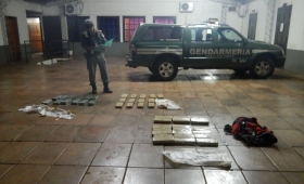 Secuestran en Misiones más de 50 kilos de marihuana