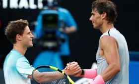 Rafael Nadal fue demasiado para Diego Schwartzman