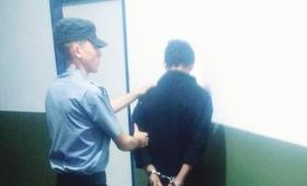 Robó a su compañero y fue detenido