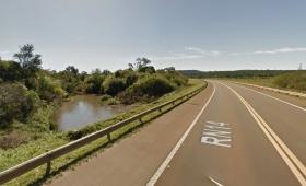 Crecida de arroyos complica el tránsito sobre ruta 14