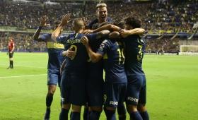 Superliga: Boca le ganó a Banfield y se aseguró el tercer puesto