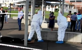 El hombre hallado en el Acceso Sur murió ahorcado