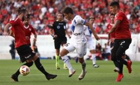 «Todo el mérito es de los jugadores», dijo el entrenador de Independiente
