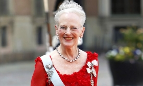 La reina Margarita de Dinamarca visita Argentina en viaje de negocios