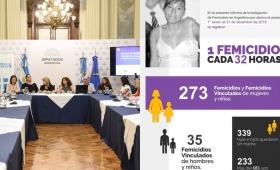 Presentan cruda estadística sobre el femicidio en Diputados