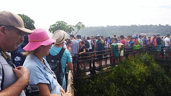 Cataratas: más de 11 mil visitantes en Viernes Santo