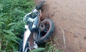 Teyú Cuaré: encontraron muerto a un motociclista