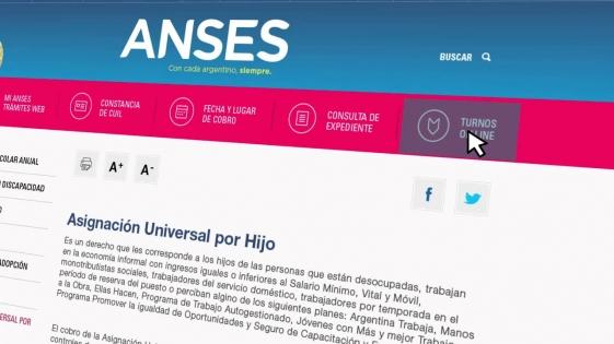 No se pueden solicitar turnos de Anses desde la web oficial