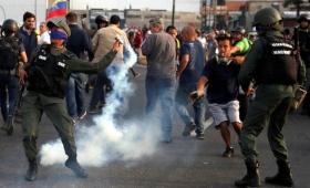 Tensión en Caracas durante la marcha de Juan Guaidó y Leopoldo López