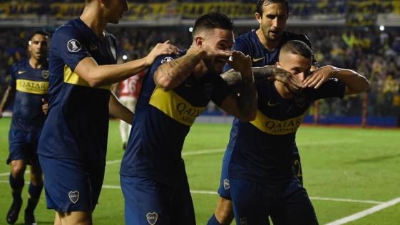 Boca goleó a Wilstermann en la Copa Libertadores