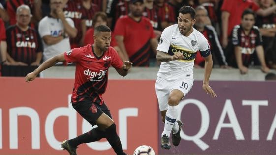 Boca perdió ante Atlético Paranaense por la Copa Libertadores