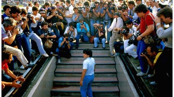 Publican el primer tráiler de «Diego Maradona»