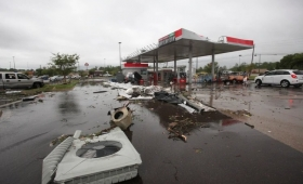 Tornados ocasionaron al menos tres muertos en Estados Unidos