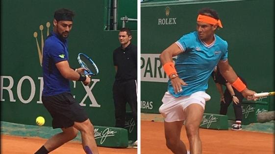 Nadal fue eliminado por Fognini en semifinales