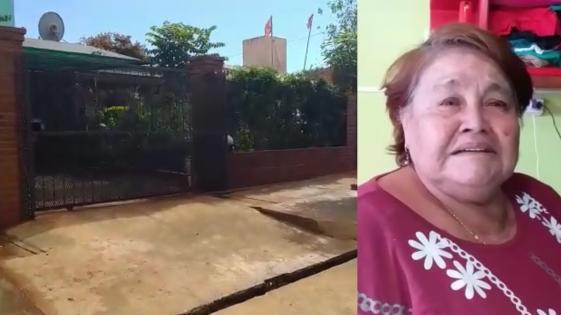 Encapuchados golpearon y asaltaron a jubilada