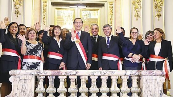 Las mujeres son mayoría por primera vez en el Gobierno de Perú