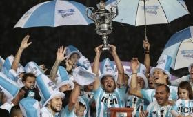 Racing festejó el título con un empate ante Defensa y Justicia